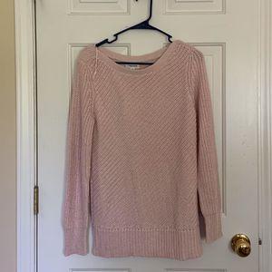 Pale pink Calvin Klein sweater